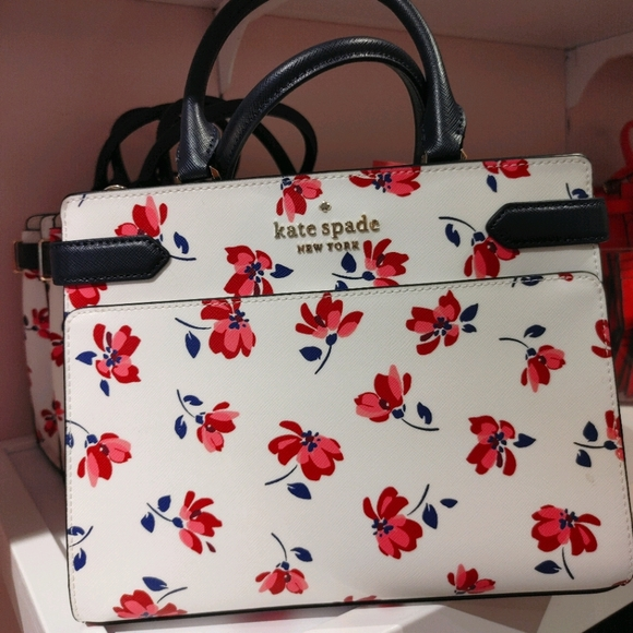 Kate Spade Staci Medium Satchel Tea Garden
